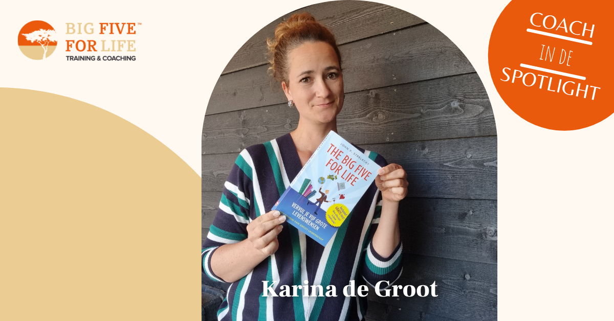 Karina de Groot Big Five for Life coach