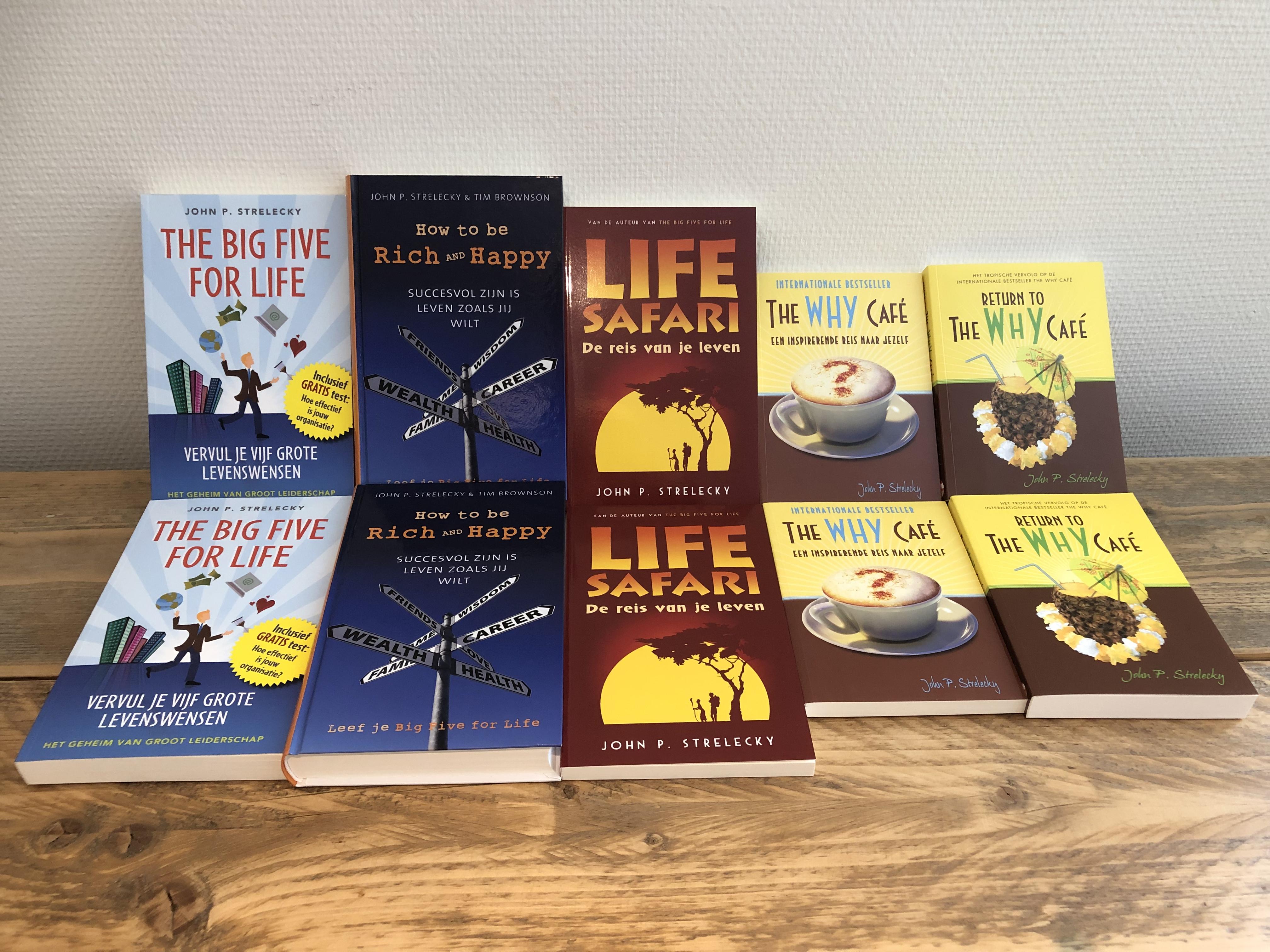 Boeken Big Five for Life