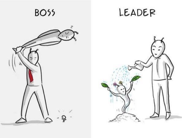 baas of leider?
